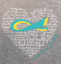 MTJF Ladies Word Cloud Plus Size Tee