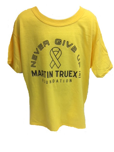 MTJ Foundation Never Give Up Youth Tee
