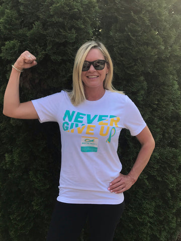 *NEW* Never Give Up Tee