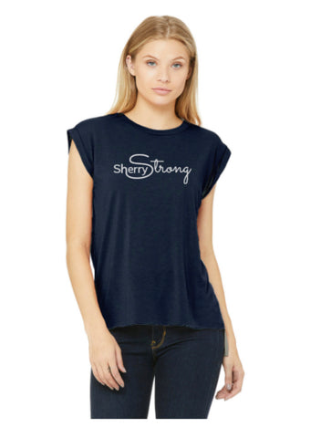 Sherry Strong Signature Muscle Tee