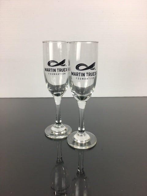 MTJ Foundation Champagne Glasses (Set of 2)