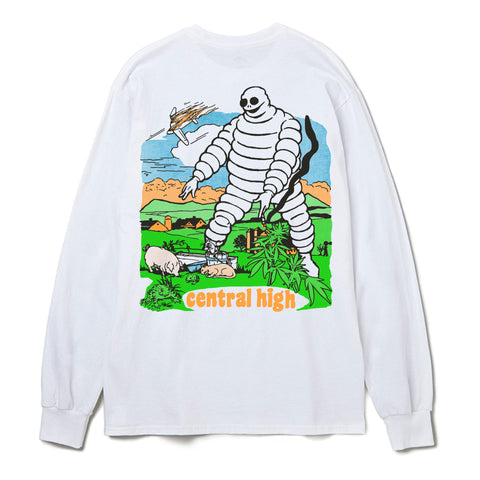 AUGUST LONGSLEEVE - CENTRAL HIGH - TSHIRT CENTRAL HIGH BRAND