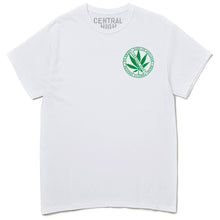 LEAF TEE - WHITE - CENTRAL HIGH - TSHIRT CENTRAL HIGH BRAND