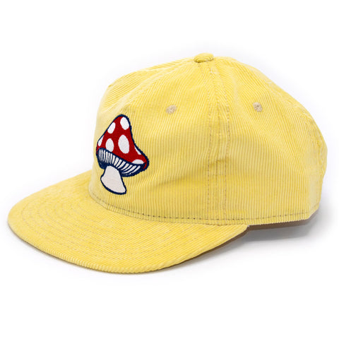 MUSHROOM HAT - BUTTER - CENTRAL HIGH - HAT CENTRAL HIGH BRAND