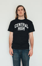 SCHOOL LOGO BLACK - CENTRAL HIGH - TSHIRT CENTRAL HIGH BRAND
