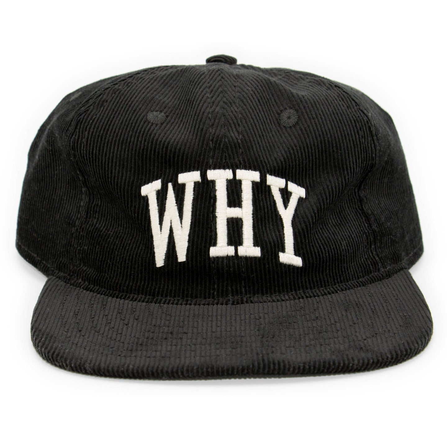 WHY HAT - BLACK - CENTRAL HIGH - HAT CENTRAL HIGH BRAND