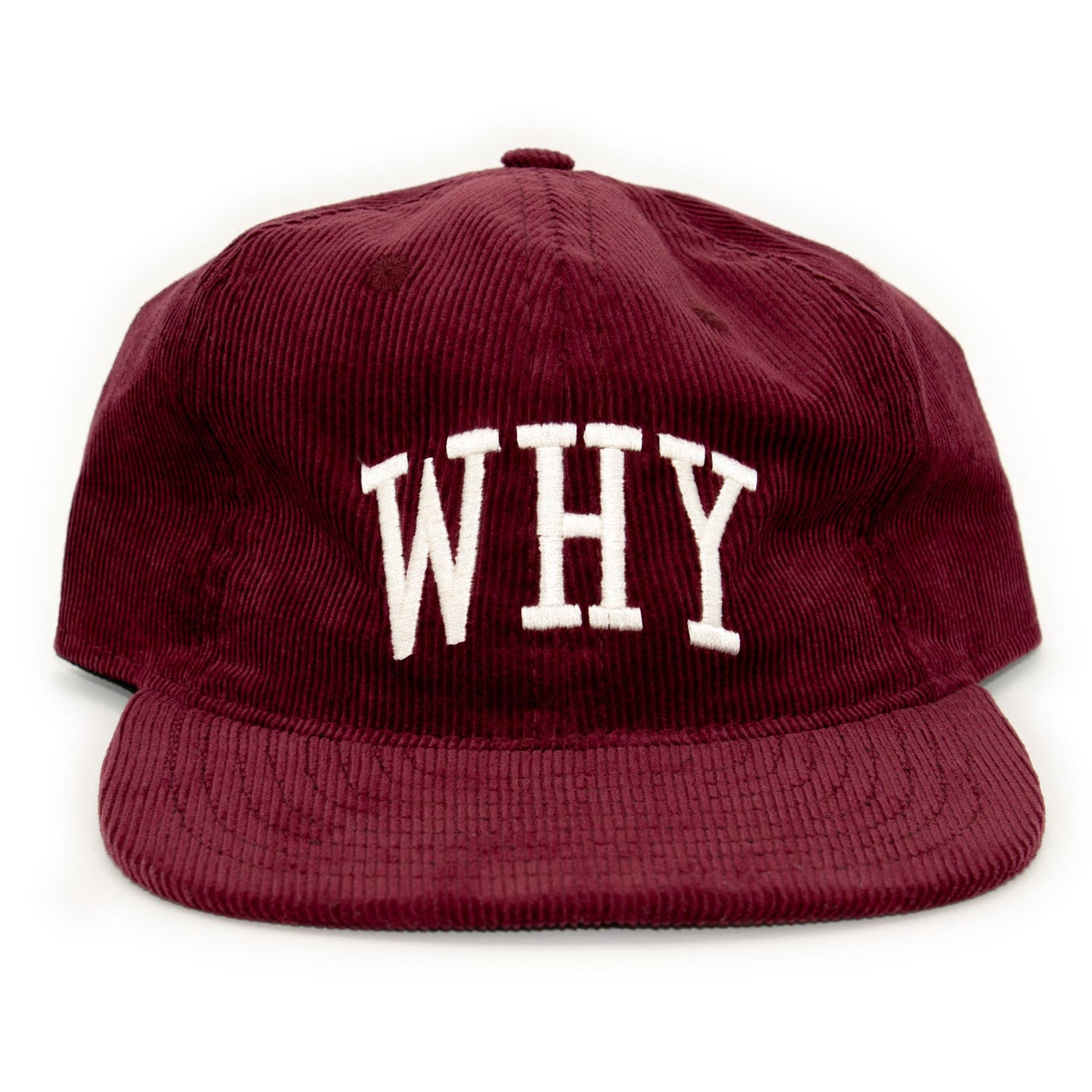 WHY HAT - MERLOT - CENTRAL HIGH - HAT CENTRAL HIGH BRAND