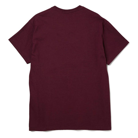 CRIME IS NOT A CRIME BURGUNDY - CENTRAL HIGH - TSHIRT CENTRAL HIGH BRAND