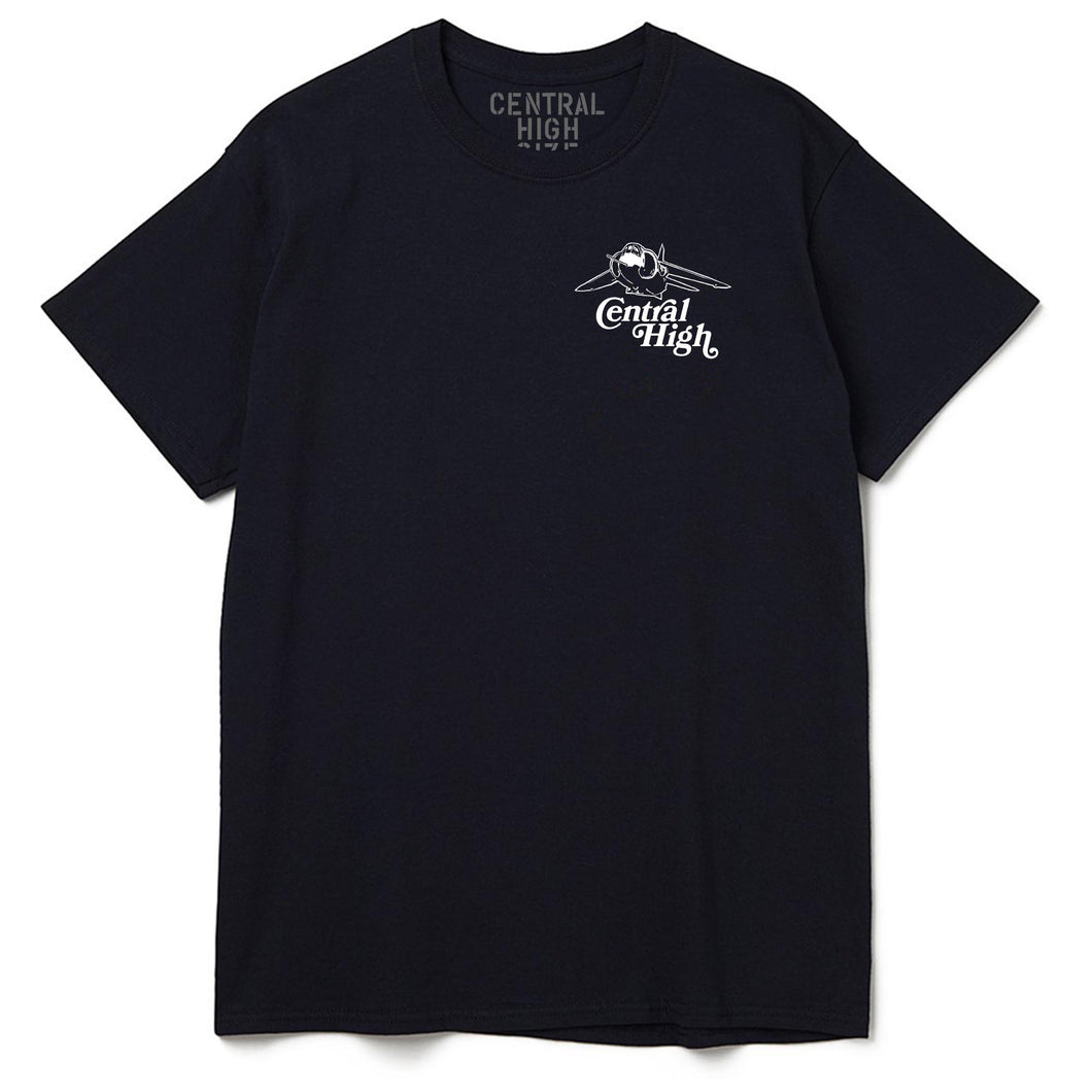 FRIENDLY SKIES BLACK - CENTRAL HIGH - TSHIRT CENTRAL HIGH BRAND