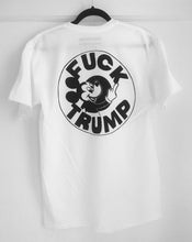 FUCK TRUMP WHITE - CENTRAL HIGH - TSHIRT CENTRAL HIGH BRAND