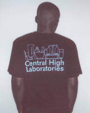 LABORATORIES TEE - BLACK - CENTRAL HIGH - TSHIRT CENTRAL HIGH BRAND