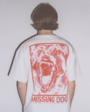 MISSING DOG TEE - WHITE - CENTRAL HIGH - TSHIRT CENTRAL HIGH BRAND