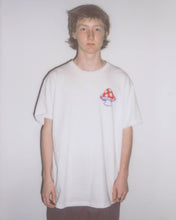 MUSHROOM TEE - WHITE - CENTRAL HIGH - TSHIRT CENTRAL HIGH BRAND
