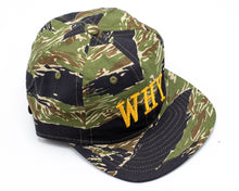 WHY HAT - TIGER CAMO - CENTRAL HIGH - HAT CENTRAL HIGH BRAND