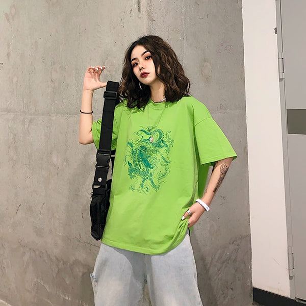 Green Dragon Tee (Long Sleeve Available)