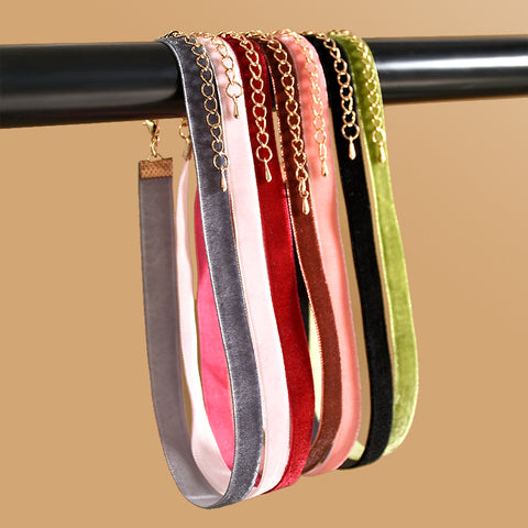 Velvet Chokers (7 Pack)