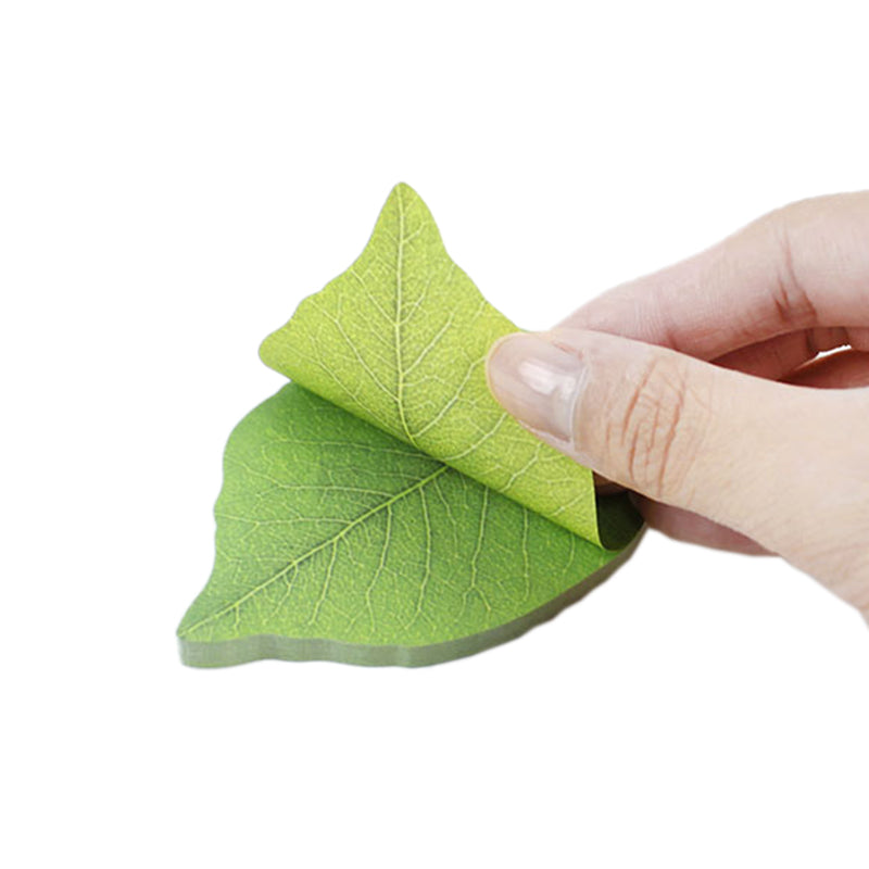 Leaf Sticky Note Pad