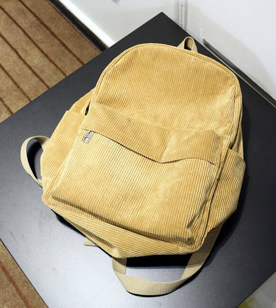 Corduroy Bags (5 Colors Available)