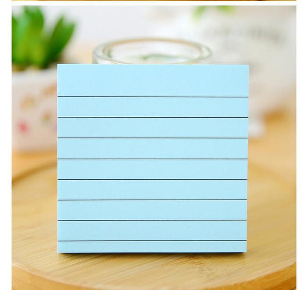 Lined Sticky Note Pad