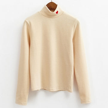 Heart Neck Sweater