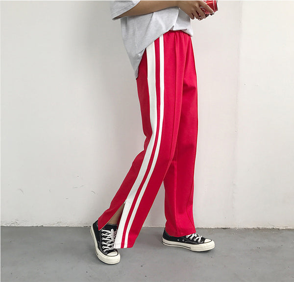 Striped Loose Pants