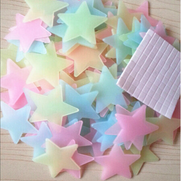100 Glow In The Dark Stars