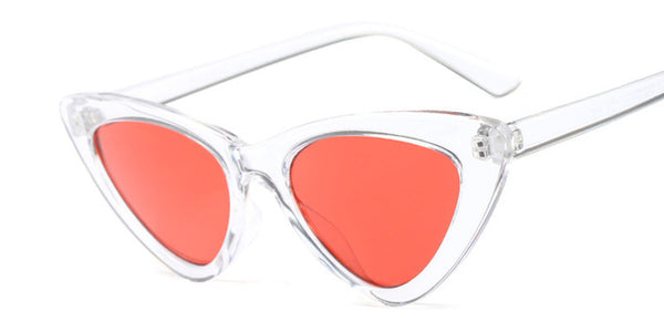 Cat Eye Sunglasses (Clear Frames) 5 Options