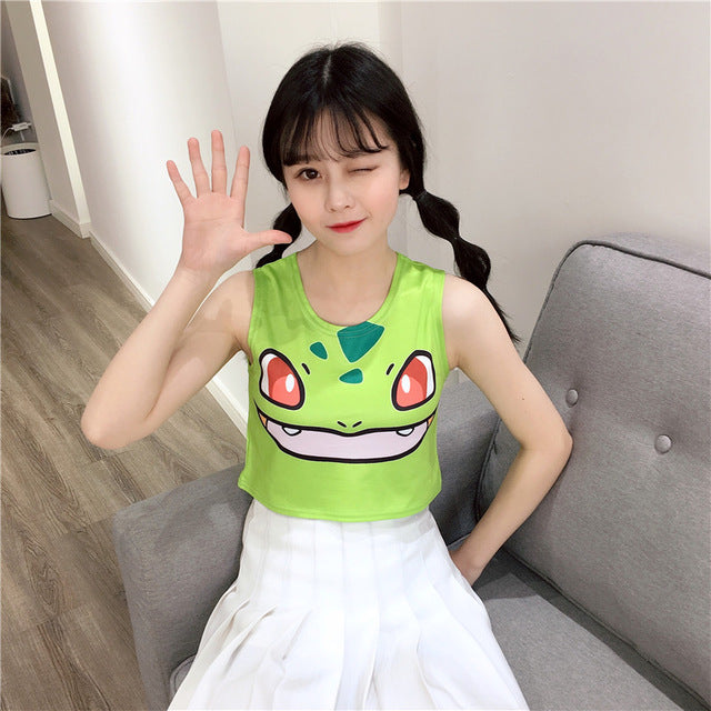 Pokémon Crop Tops