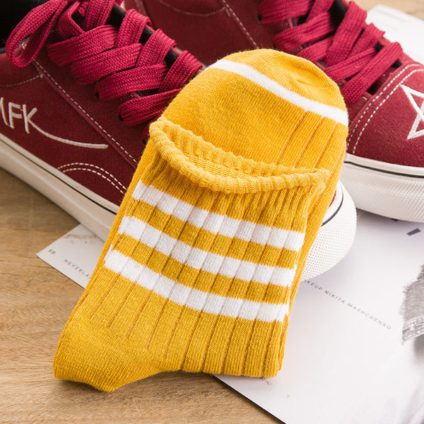 Casual Striped Socks