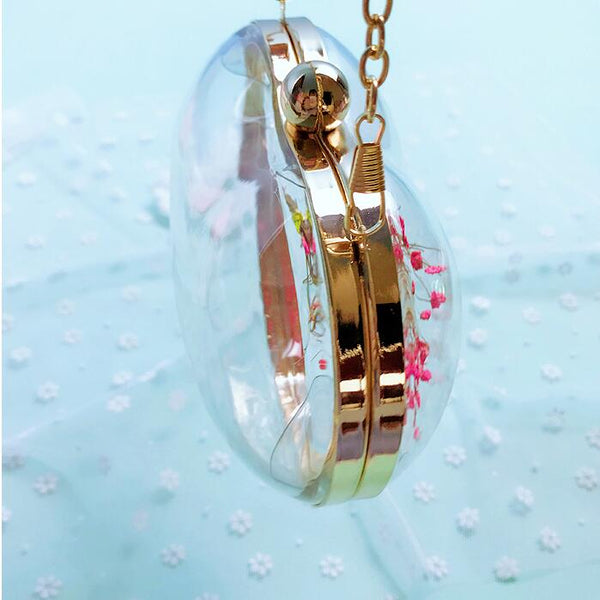 Transparent Acrylic Clutch Bag