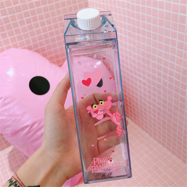 Transparent Carton Water Bottle
