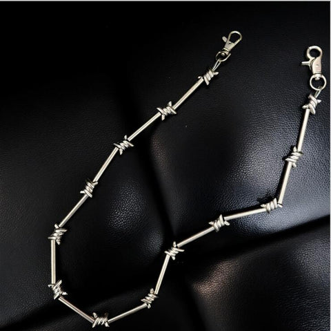 Barbed Wire Pant Chain