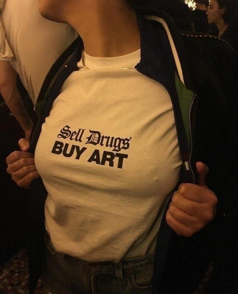 Sell Drugs Buy Art Shirt
