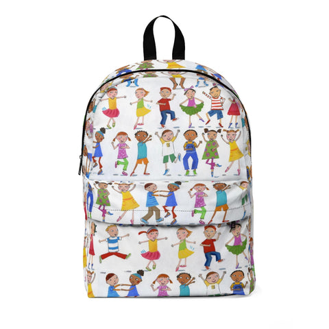 "Roxanna Baer- ""Kids Dancing"" Classic Backpack"