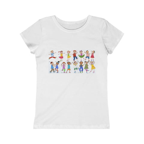 "Roxanna Baer- ""Kids Dancing"" Junior T-Shirt"