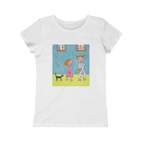 "Roxanna Baer- ""Sisters"" Junior T-Shirt"