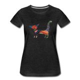 Cat T-Shirt - charcoal gray