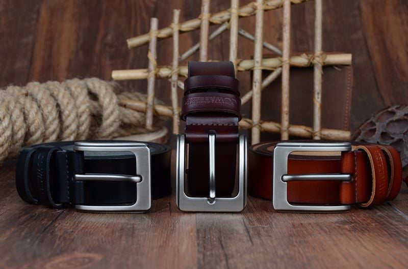 Belts - Top Quality Men's Genuine Leather Luxury Belt