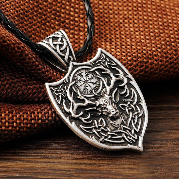 Necklaces - Legendary Viking Deer Amulet & Necklace
