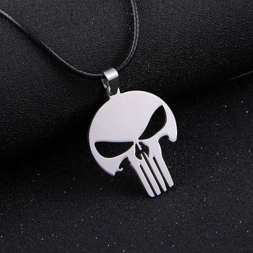Necklaces - Punisher Charm & Necklace