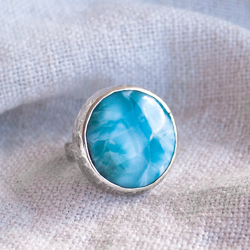 ALCHEMY RING: Larimar