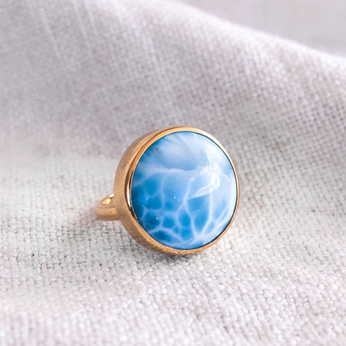 LIGHT RING: Larimar