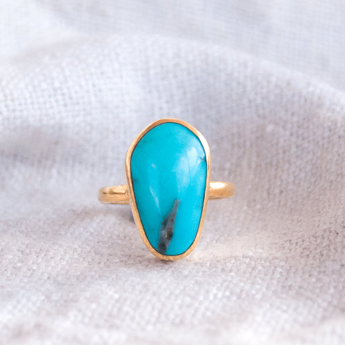 LIGHT RING: Turquoise