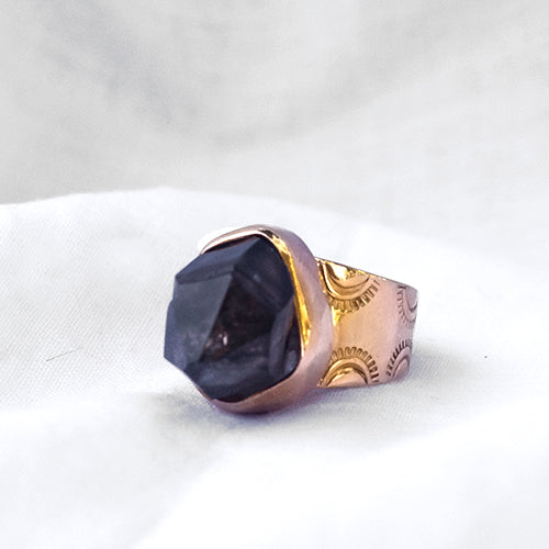 VENUS RING: Morella Smokey Quartz