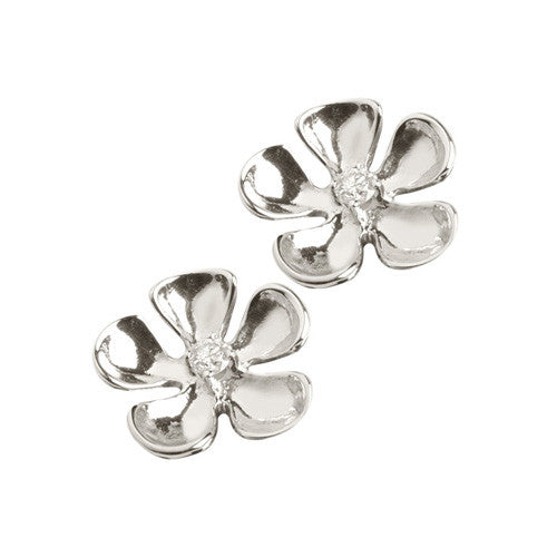 Honu Flower Post Earrings