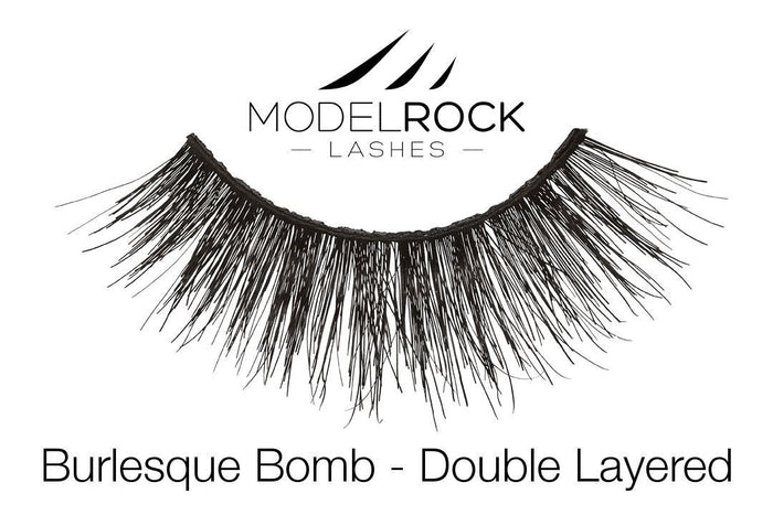 Model Rock Double Layered Lashes - Burlesque Bomb