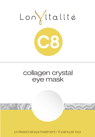 Lonvitalite C8 Collagen Crystal Eye Masks 6pk