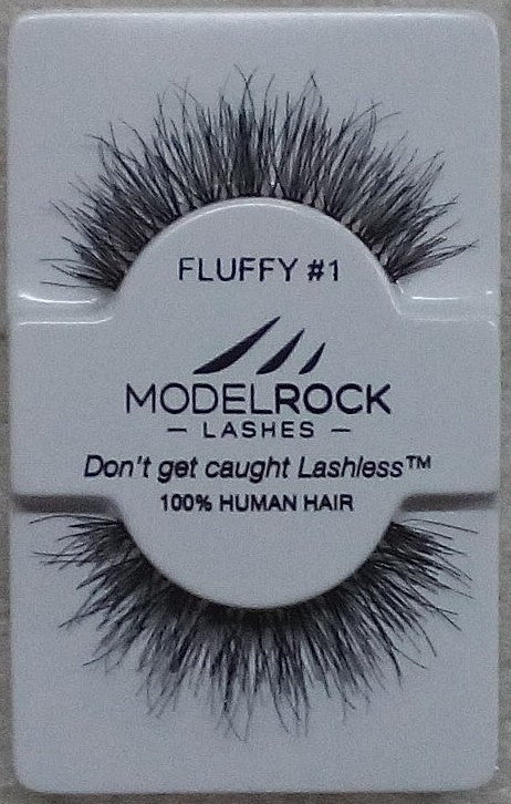 Model Rock Kit Ready Lashes - Fluffy Collection #1