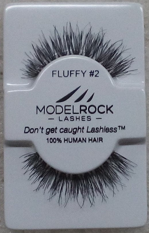 Model Rock Kit Ready Lashes - Fluffy Collection #2