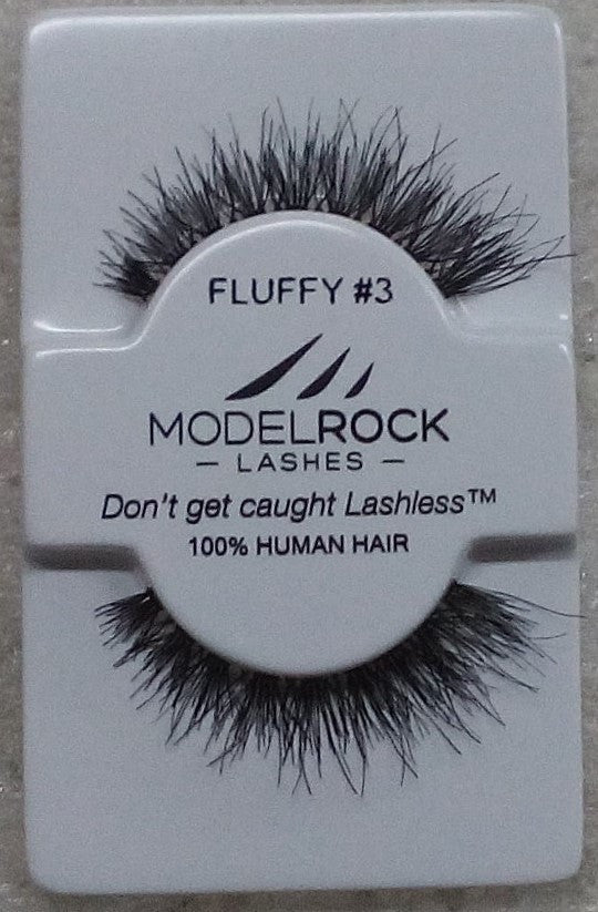 Model Rock Kit Ready Lashes - Fluffy Collection #3